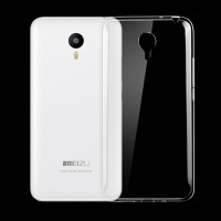 Силиконовый матовый транспарентный чехол для Meizu M2 Note