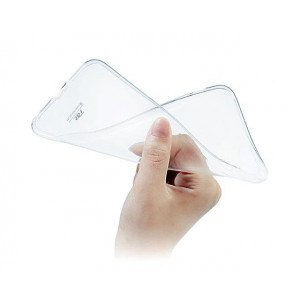 Силиконовый глянцевый транспарентный чехол для LG Optimus G2 mini