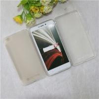 Силиконовый матовый полупрозрачный чехол для Xiaomi RedMi 4A  Белый