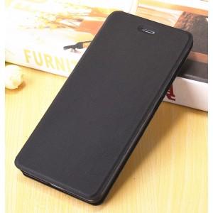 Чехол горизонтальная книжка подставка на пластиковой основе для Xiaomi RedMi 4A Черный