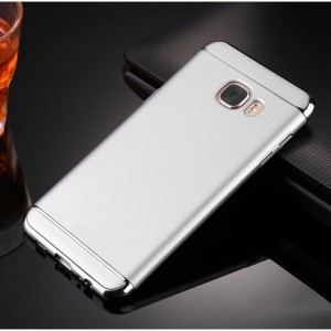 Пластиковый непрозрачный матовый чехол сборного типа для Samsung Galaxy J5 Prime