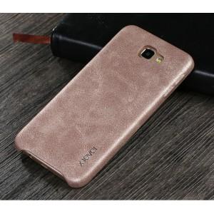 Чехол накладка текстурная отделка Кожа для Samsung Galaxy J5 Prime