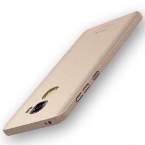 Пластиковый непрозрачный матовый чехол с повышенной шероховатостью и улучшенной защитой элементов корпуса для LeEco Le Pro 3