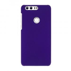 Пластиковый непрозрачный матовый чехол для Huawei Honor 8 Синий