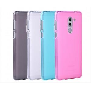 Силиконовый матовый полупрозрачный чехол для Huawei Honor 6X