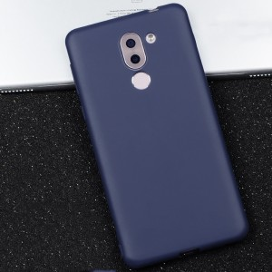 Силиконовый матовый непрозрачный чехол для Huawei Honor 6X