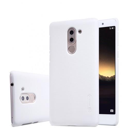 Пластиковый непрозрачный матовый нескользящий премиум чехол для Huawei Honor 6X
