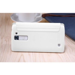 Чехол горизонтальная книжка на пластиковой нескользящей премиум основе для LG K7