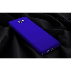 Пластиковый непрозрачный матовый чехол с улучшенной защитой элементов корпуса для Samsung Galaxy A3 (2017)