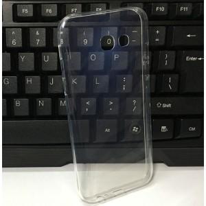 Силиконовый глянцевый транспарентный чехол для Samsung Galaxy A5 (2017)