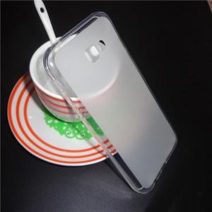 Силиконовый матовый полупрозрачный чехол для Samsung Galaxy A5 (2017) Белый