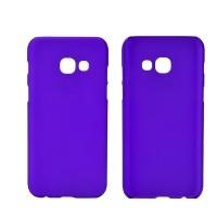 Пластиковый непрозрачный матовый чехол для Samsung Galaxy A5 (2017) Фиолетовый