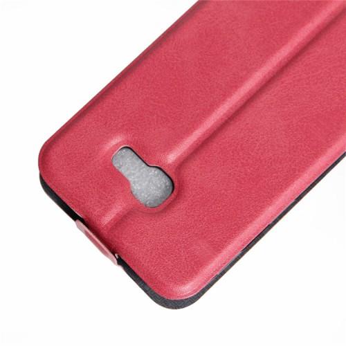 Глянцевый водоотталкивающий чехол вертикальная книжка на силиконовой основе с отсеком для карт на магнитной защелке для Samsung Galaxy A5 (2017)