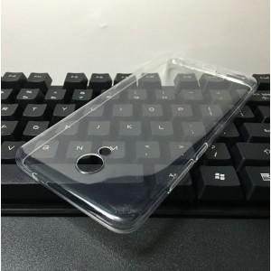Силиконовый матовый транспарентный чехол для Meizu M5 Note