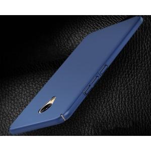 Пластиковый непрозрачный матовый чехол с улучшенной защитой элементов корпуса для Meizu M5 Note