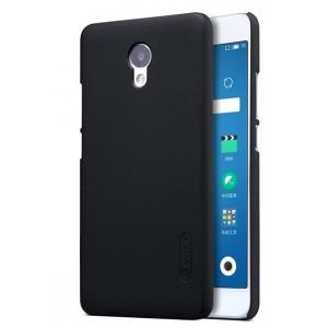 Пластиковый непрозрачный матовый нескользящий премиум чехол для Meizu M5 Note