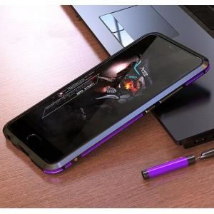 Металлический округлый бампер сборного типа на винтах для Meizu M5 Note