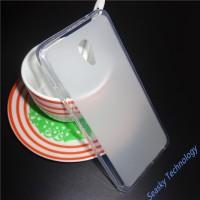 Силиконовый матовый полупрозрачный чехол для Meizu M5  Белый