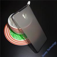 Силиконовый матовый полупрозрачный чехол для Meizu M5  Серый