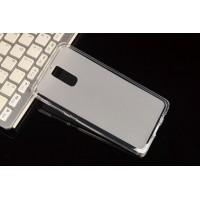 Силиконовый матовый полупрозрачный чехол для Huawei Mate 9  Белый