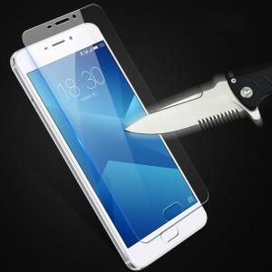 Ультратонкое износоустойчивое сколостойкое олеофобное защитное стекло-пленка для Meizu M5 Note