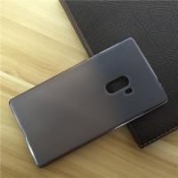 Силиконовый матовый полупрозрачный чехол для Xiaomi Mi Mix