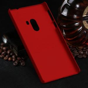 Пластиковый непрозрачный матовый чехол для Xiaomi Mi Mix Красный