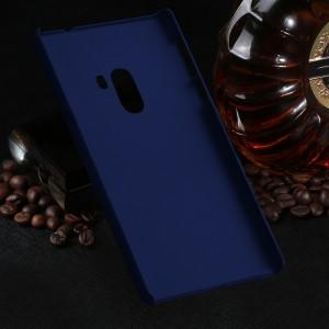 Пластиковый непрозрачный матовый чехол для Xiaomi Mi Mix Синий