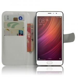 Чехол портмоне подставка на магнитной защелке для Xiaomi RedMi Pro  Белый