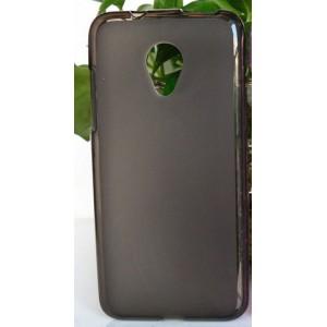 Силиконовый матовый полупрозрачный чехол для HTC Desire 700