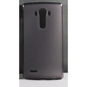 Силиконовый матовый полупрозрачный чехол для LG G4 Stylus