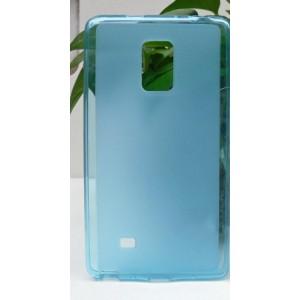 Силиконовый матовый полупрозрачный чехол для Samsung Galaxy Note Edge