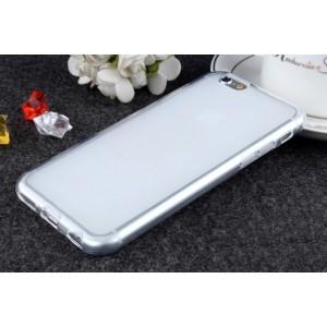 Силиконовый матовый полупрозрачный чехол для Iphone 6/6s