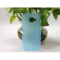 Силиконовый матовый полупрозрачный чехол для Samsung Galaxy C5