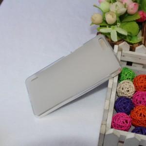 Силиконовый матовый полупрозрачный чехол для Huawei Honor 6 Plus Белый