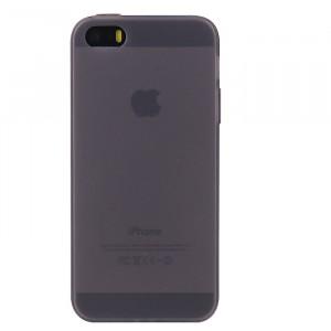 Силиконовый матовый полупрозрачный чехол для Iphone 5/5s/SE