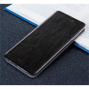Чехол горизонтальная книжка подставка на силиконовой основе для Xiaomi RedMi Pro Черный