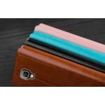 Чехол горизонтальная книжка подставка на пластиковой основе для Samsung Galaxy Note 3