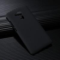 Пластиковый непрозрачный матовый чехол для Huawei Honor 5X Черный