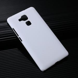 Пластиковый непрозрачный матовый чехол для Huawei Honor 5X