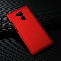 Пластиковый непрозрачный матовый чехол для Huawei Honor 5X Красный