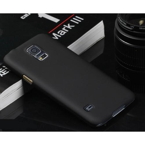 Пластиковый непрозрачный матовый чехол для Samsung Galaxy S5 (Duos)