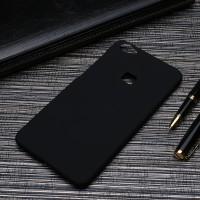 Пластиковый непрозрачный матовый чехол для Huawei P9 Lite Черный
