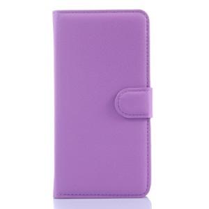 Чехол портмоне подставка на пластиковой основе на магнитной защелке для Samsung Galaxy Grand Prime