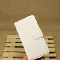 Чехол портмоне подставка на пластиковой основе на магнитной защелке для Samsung Galaxy S4 Mini Белый