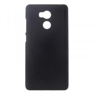 Пластиковый непрозрачный матовый чехол для Xiaomi RedMi 4 Pro  Черный