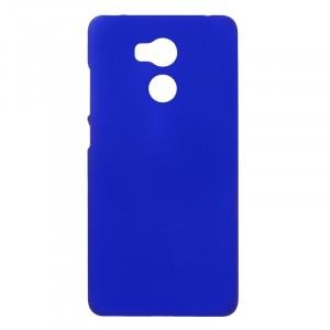 Пластиковый непрозрачный матовый чехол для Xiaomi RedMi 4 Pro  Синий
