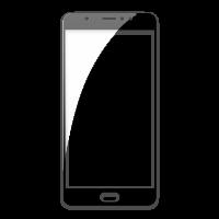 Оригинальное защитное стекло-пленка для Meizu Pro 6 Plus  Черный