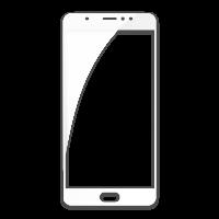 Оригинальное защитное стекло-пленка для Meizu Pro 6 Plus  Белый