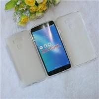 Силиконовый матовый полупрозрачный чехол для ASUS ZenFone 3 Max ZC553KL  Белый